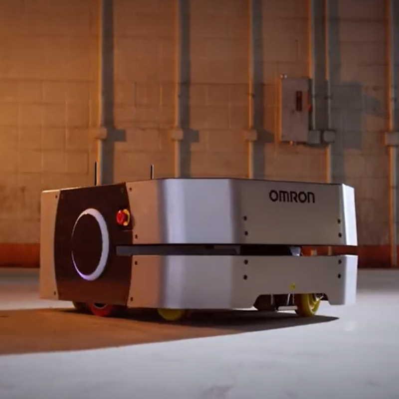 Omron LD-250 mobile robot