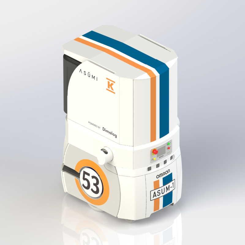 REDI Home-on-Demand ASUM-1 robot courier
