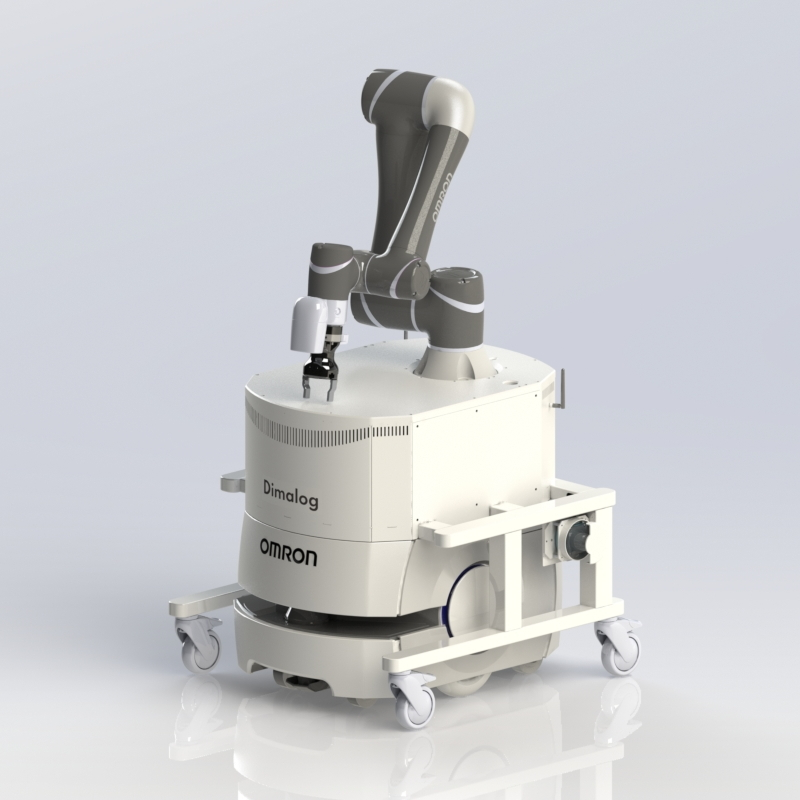 Dimalog mobile cobot